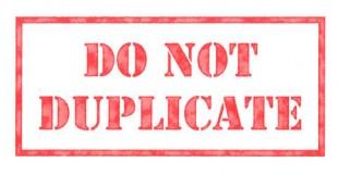 do-not-duplicate